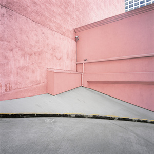 Pink Wall, Los Angeles, USA