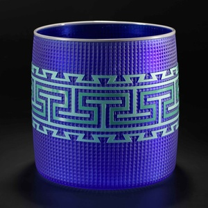 Tlingit Basket Cobalt / Grey Lip