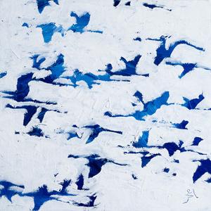 Blue Study II