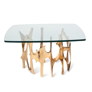 Bronze Organic Form Coffee Table