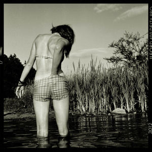 Catherine In The Pond