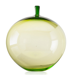 Large green Apple vase, Sweden