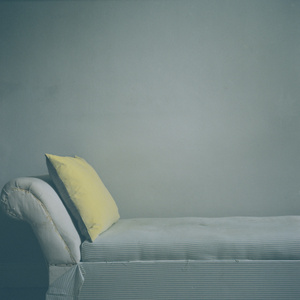Interior - yellow cushion
