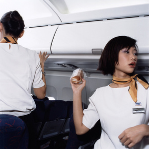 Wenyi and Kate, Tiger Airways