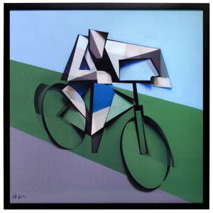 ITI_02 THE CYCLIST Dimensional Edition (a limited edition of 150 pieces)