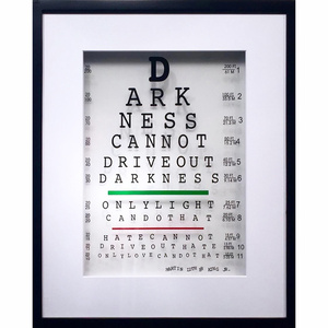 Martin Luther King Jr. Eye Quote