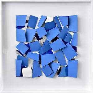 Blaues Scherbenobjekt