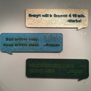 Txtual Healing - Warhol, Txtual Healing - Picasso, Txtual Healing - Johns