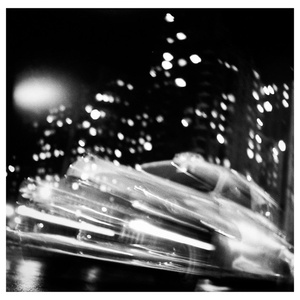 Taxi, New York at Night