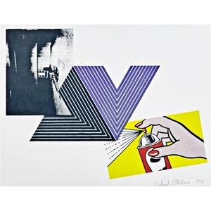THE APPROPRIATION PRINT (Andy Warhol, Frank Stella, Roy Lichtenstein)