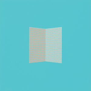 After Malevich - Pale Blue