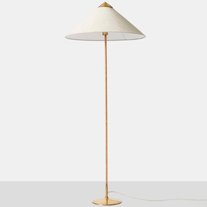 """""""Chinese Hat"""" Floor Lamp by Paavo Tynell"""