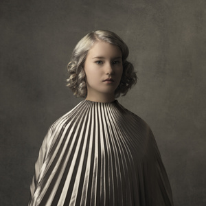 Girl with the Silver Cape