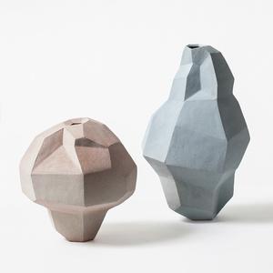 """Two """"Geometric Vases"""""""