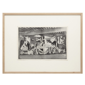 Photography of Guernica by Picasso