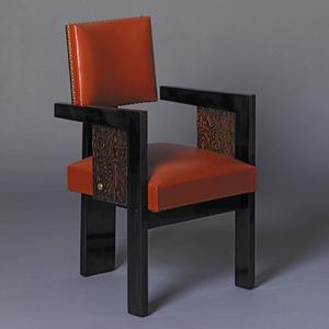Four « bridge » armchairs