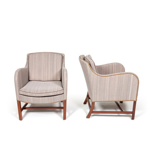 "Pair of ""Mix"" armchairs"