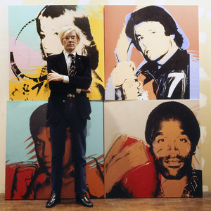 Andy Warhol,La Factory New York, 1977