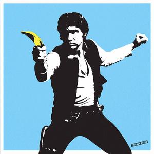 Han Solo Banana Gun