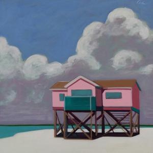 Stilt House in Pink