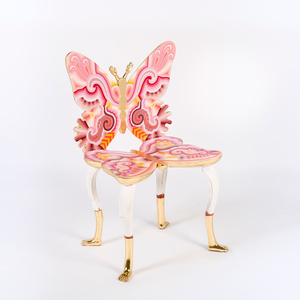 Pink Butterfly Chair,