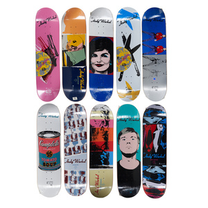 Alien Workshop x Andy Warhol Skateboard Decks