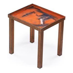 The Smoking Man table