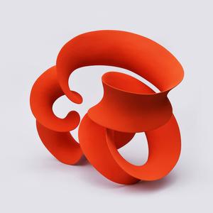 Dark Orange Continuous Form