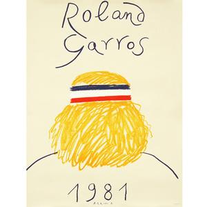 1981 Roland Garros Poster