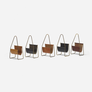 magazine stands model 3808, set of five