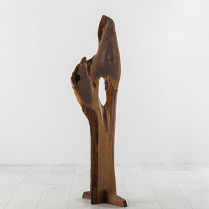 Keisho III, Walnut Totemic Sculpture by Mira Nakashima