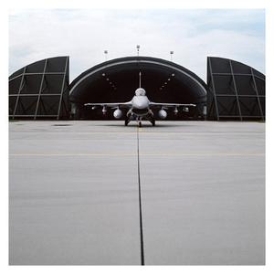 Lockheed-Martin F-16 rollout. Polish Air Force base near Poznan. July 2009
