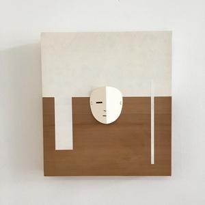 Abstract Mask Panel 1