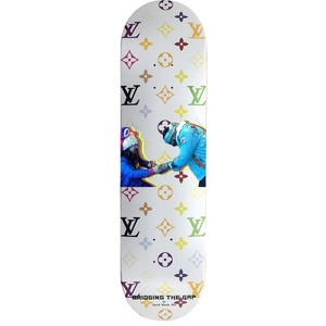 "White LV ""The Meeting"" David Weeks NYC Printed Deck"