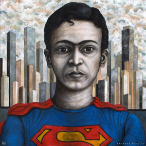 Frida as Superman