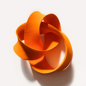 Orange Cursive (Wall)