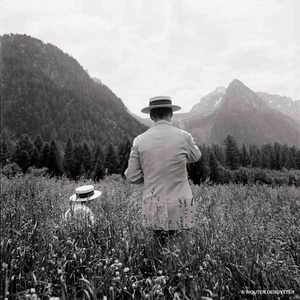 McDermott & McGough: Road to Soglio, Switzerland