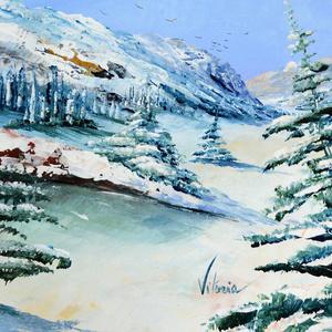 Montagne en hiver
