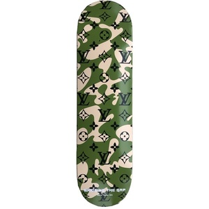 Camo LV David Weeks NYC Printed Deck