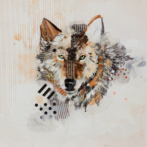 Wolf Head Portrait
