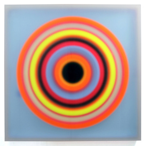Color space – Blue medium / Black Hole