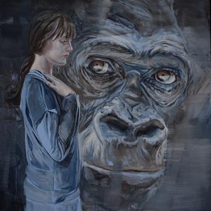 King Kong et jeune fille