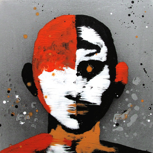 Fayum Head VII. Serie cabezas de Rorschach III