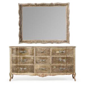 Dresser and framed mirror, New York