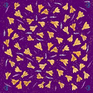 Silk wishes - violet