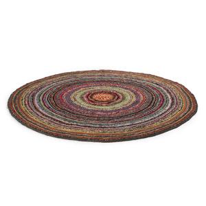 Circular Graphic Rag Rug