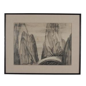 Untitled (Mountain Landsacpe)