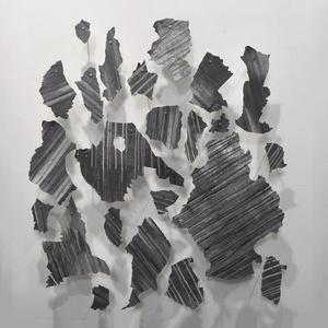 Untitled (fragments of the mural Desde el fondo del tiempo)