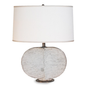 GRAY LEAF LAMP