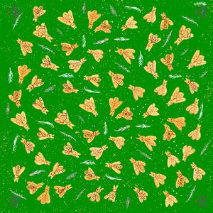 Silk wishes - vert